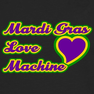 Mardi Gras Love Machine - Premium langermet T-skjorte for menn