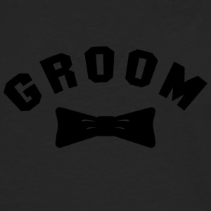 BRUDGUM Getting Married - Långärmad premium-T-shirt herr