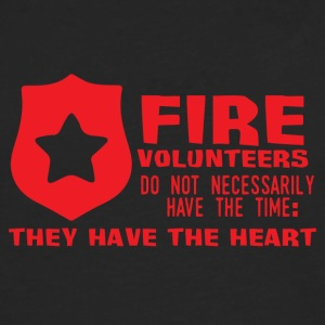 Fire Department: Fire volunteers do not Necessarily have - Men's Premium Longsleeve Shirt