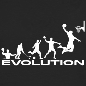 Basketball evolution - Men's Premium Longsleeve Shirt