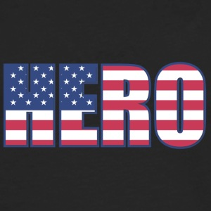 Hero USA - Premium langermet T-skjorte for menn