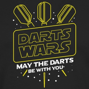 DARTS WARS - MAY THE DARTS BE WITH YOU - Men's Premium Longsleeve Shirt