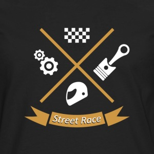 streetrace road race - Men's Premium Longsleeve Shirt