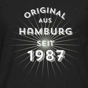 Original from Hamburg since 1987 - Men's Premium Longsleeve Shirt