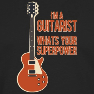 Awesome GUITARIST - Music - Men's Premium Longsleeve Shirt