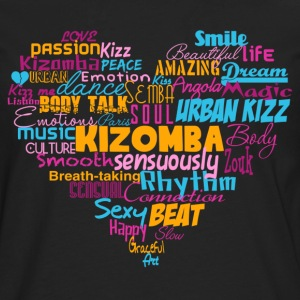 Kizomba Heart Shirt color - Mambo New York - Men's Premium Longsleeve Shirt