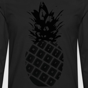 keyboard pineapple - Men's Premium Longsleeve Shirt