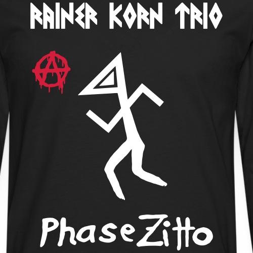 Rainer Korn - Phase Zitto - Männer Premium Langarmshirt