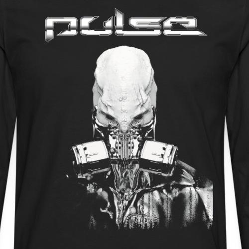 Pulse Alien Merch - Männer Premium Langarmshirt
