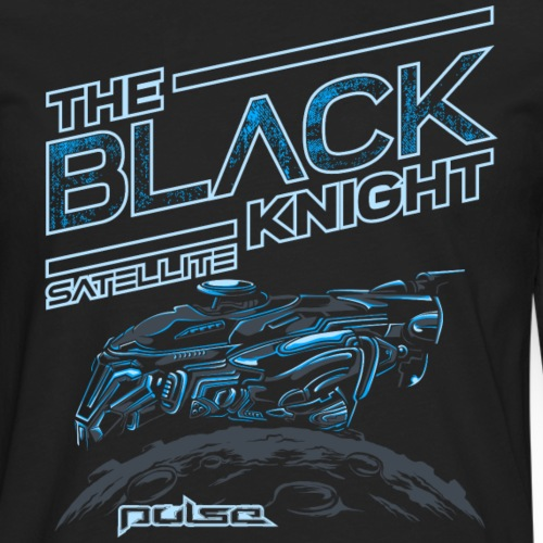 The Black Knight Satellite (Pulse) - Dark - Männer Premium Langarmshirt