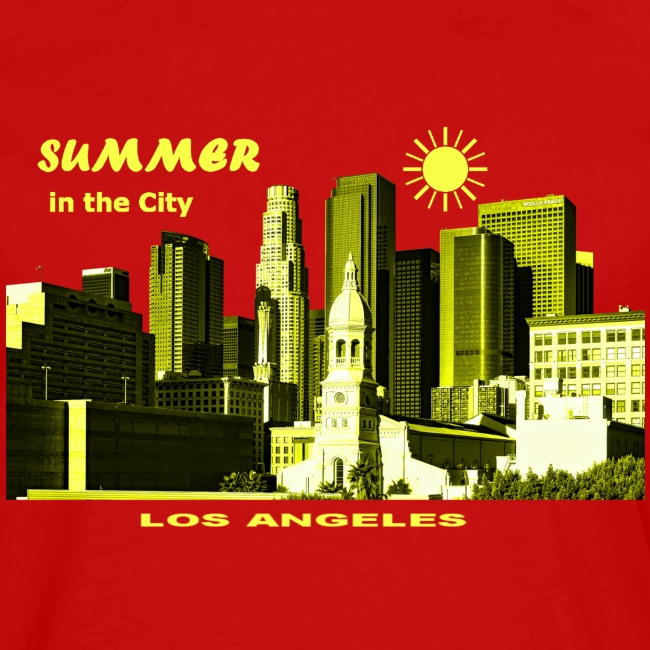 Summer in the City Los Angeles USA