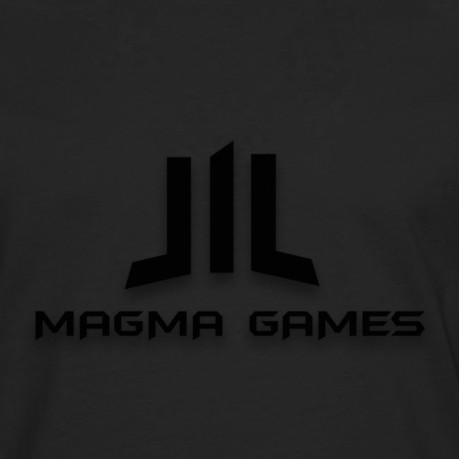 Magma Games sweater grijs met zwart logo
