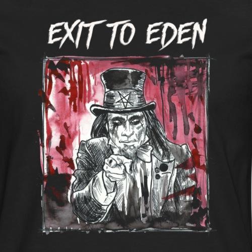 Exit To Eden - Goth 'n' Roll Head - Männer Premium Langarmshirt