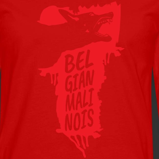 Belgian Malinois HEAD