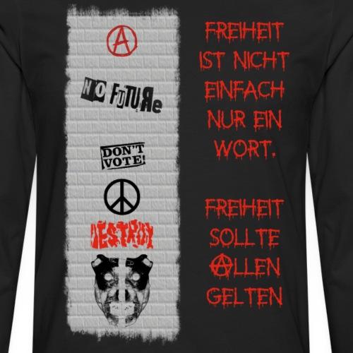 FREIHEIT - Männer Premium Langarmshirt