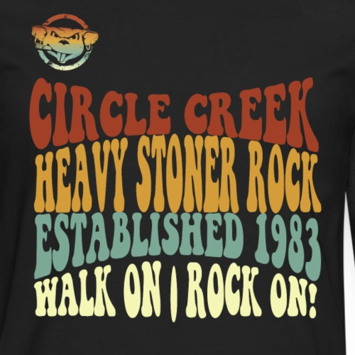 Circle Creek - Walk On - Männer Premium Langarmshirt