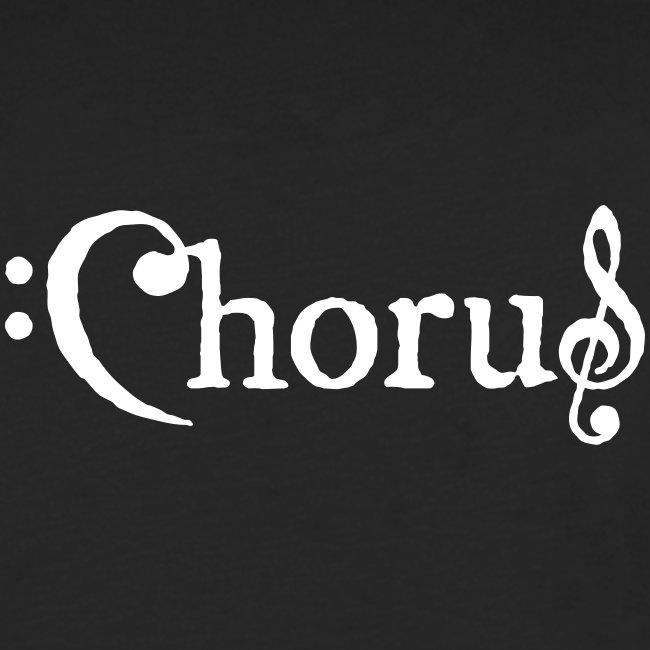 Chorus Kör Logo Vit EPS