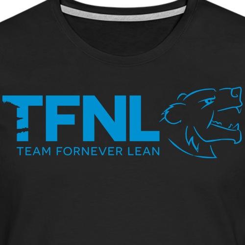 TFNL Blue Logo Longsleeve Tee - Men's Premium Longsleeve Shirt
