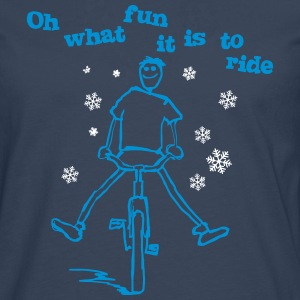 Oh what fun it is to ride! - Men's Premium Longsleeve Shirt