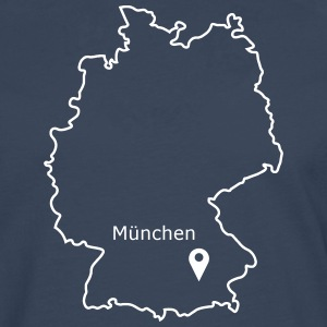 place to be: Munich - Men's Premium Longsleeve Shirt