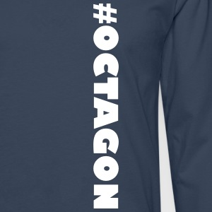 #OCTAGON - Men's Premium Longsleeve Shirt
