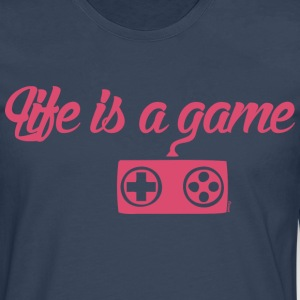 Life is a game (H) - T-shirt manches longues Premium Homme