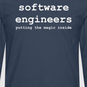 software_engineers - Herre premium T-shirt med lange ærmer