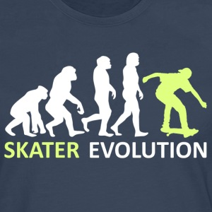 ++ ++ Skater Evolution - Premium langermet T-skjorte for menn