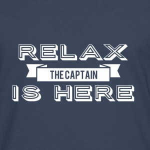 Relax capitaine design - T-shirt manches longues Premium Homme