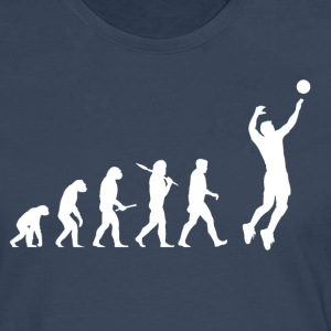 Evolution Volleyboll Man - Långärmad premium-T-shirt herr