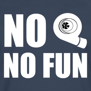No turbo no fun - Men's Premium Longsleeve Shirt