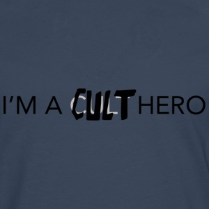 i'm a cult hero - Men's Premium Longsleeve Shirt