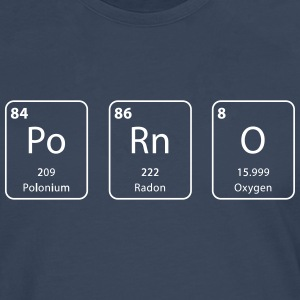 Porn periodic table element - Men's Premium Longsleeve Shirt