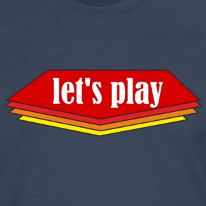 Let ' s play - Men's Premium Longsleeve Shirt