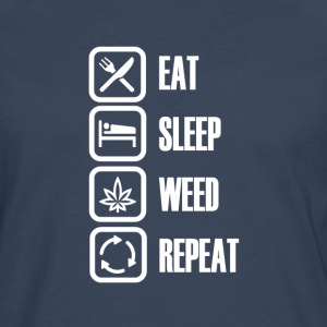 Smoke weed every day - Premium langermet T-skjorte for menn