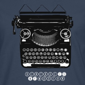 TYPEWRITER_1 - T-shirt manches longues Premium Homme