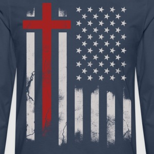 God and America - Men's Premium Longsleeve Shirt
