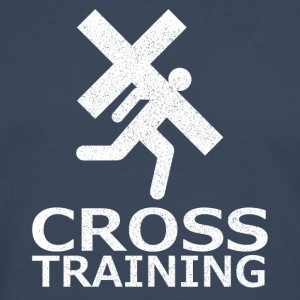 """Cross Training"" (sarcasme) - T-shirt manches longues Premium Homme"