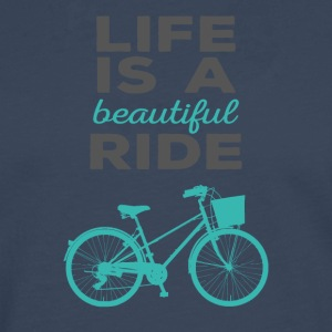 Bicycle: Life is a beautiful ride - Men's Premium Longsleeve Shirt