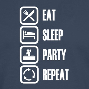 Party hard every day - Männer Premium Langarmshirt