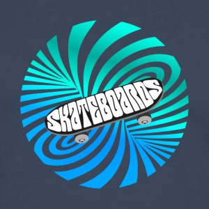 skate illusion Skateboard skater optical Art lol - Männer Premium Langarmshirt