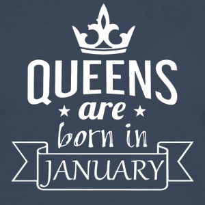 Queens are born in January - Men's Premium Longsleeve Shirt