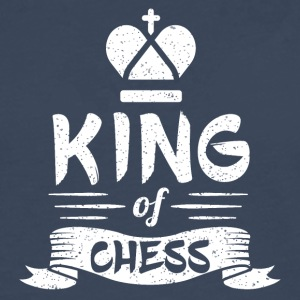 King of Chess - Men's Premium Longsleeve Shirt