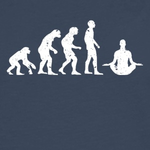 EVOLUTION BUDDHA! - Premium langermet T-skjorte for menn