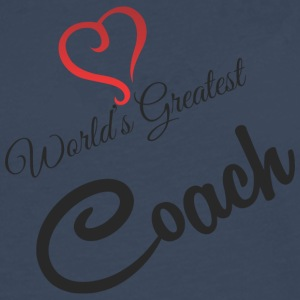 World's Greatest COACH - Mannen Premium shirt met lange mouwen