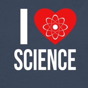 I LOVE SCIENCE WHITE - Männer Premium Langarmshirt