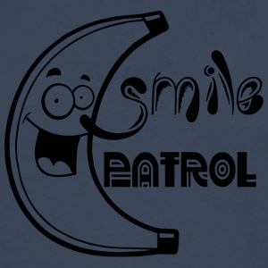 SMILIE PATROL black - Men's Premium Longsleeve Shirt