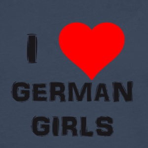 german girls - Männer Premium Langarmshirt