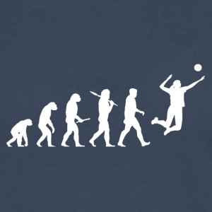 Evolution Volleyball Woman Sport funny - Männer Premium Langarmshirt
