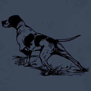 Hunting dog at work - Men's Premium Longsleeve Shirt